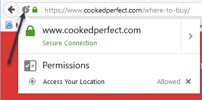 cooked perfect where to buy help firefox site permission information