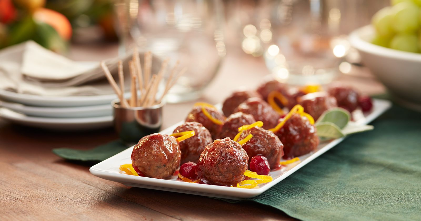 home market foods cooked perfect cranberry meatballs with toothpicks
