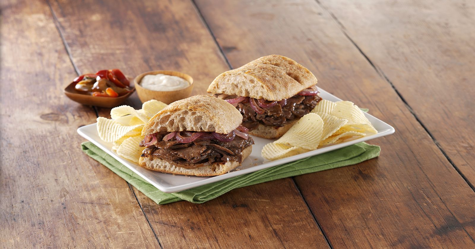 home market foods food service shaved steak sandwich