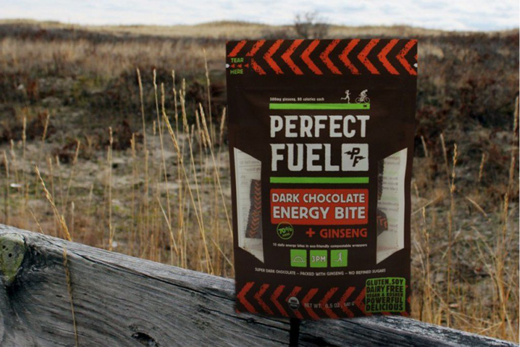 home market foods perfect fuel bag on fence rail