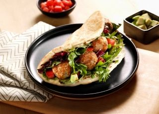cooked perfect recipe quick meatball pita