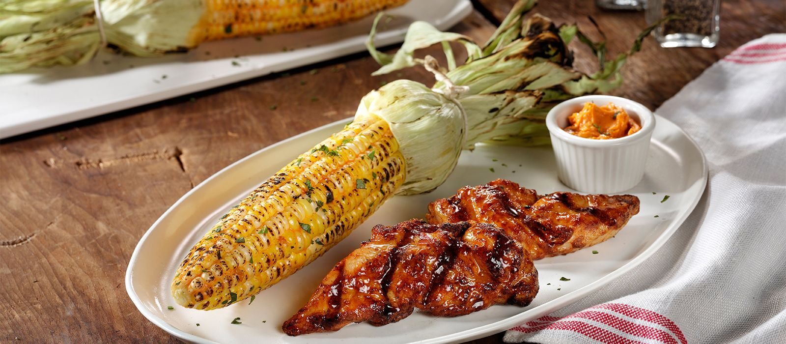home market foods cooked perfect classic fire grilled chicken tenders with corn