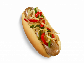 home market foods eisenberg italian style sausage with peppers onions